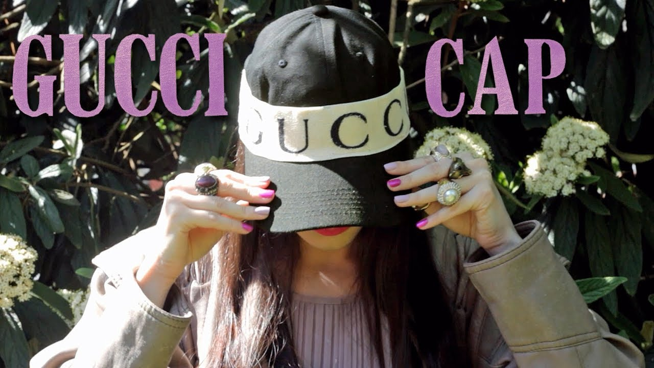 3e09d8932a8 Gucci Cap with Logo Headband |OOTD - YouTube