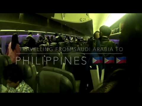 Travelling  from Saudi to Philippines