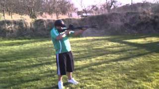 "Tactical Remington 870 Shooting 3"" Buckshot"