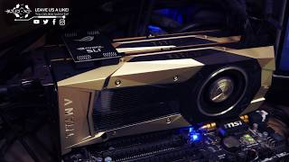 TITAN V SLI || AOTS - BENCHMARK 90FPS, 4K RESOLUTION