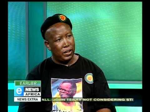 eNews Africa - Interview with JULIUS MALEMA aired 16_11_11