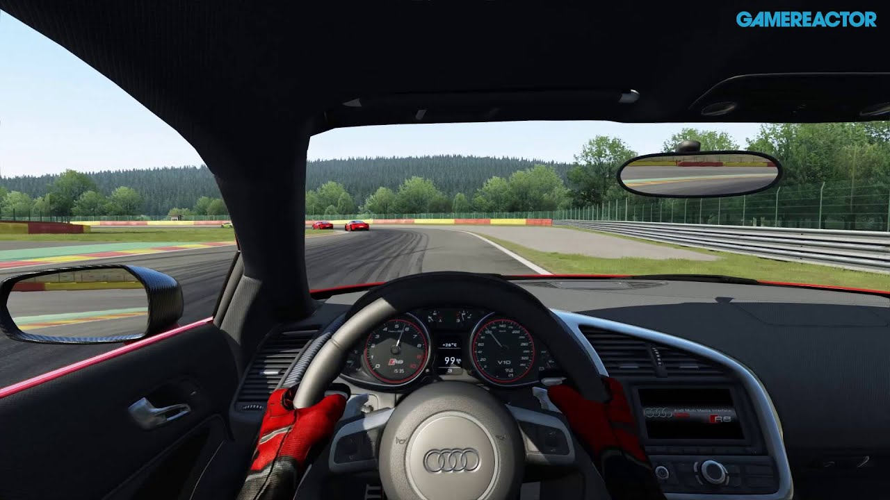 assetto corsa ps4 alpha gameplay audi r8 race at spa francorchamps youtube. Black Bedroom Furniture Sets. Home Design Ideas