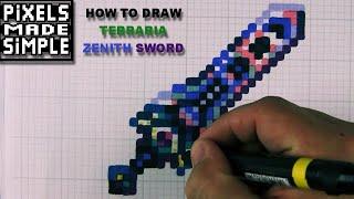 Pixels Made Simple - Terraria - Zenith Sword