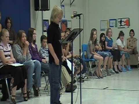 Best Elementary Student Council Speech EVER! - YouTube