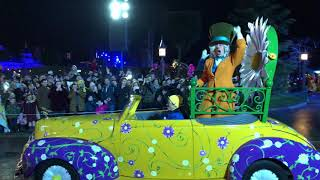 Disneyland Paris New Years Eve Parade