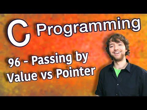 C Programming Tutorial 96 - Passing by Value vs Pointer thumbnail