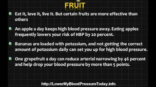 Foods That Lower Blood Pressure - 5 Foods That Will Help Immediately!