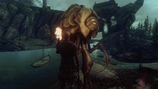 Skyrim Dragonborn DLC - Last Silt Strider of Morrowind