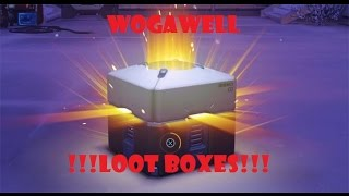 OVERWATCH Loot Box Opening PART 1