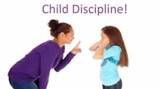 Do children need discipline-School Project!