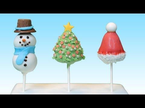 Weihnachtliche Lebkuchen- Cake Pops