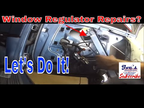 How to replace the window Regulator on a Mercury Grand Marquis