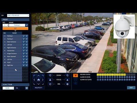 1080p HD PTZ Camera w/ HD-TVI AHD HDCVI CCTV Video Modes