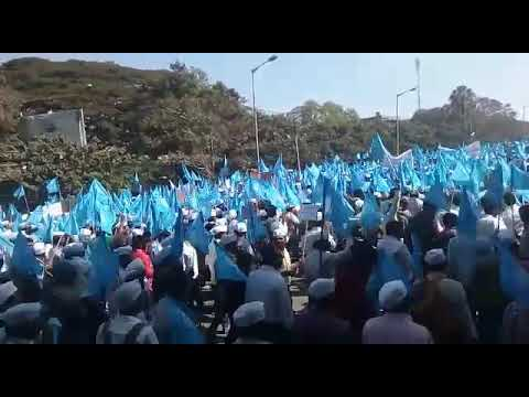 NPS Againest protest at freedom park bangalore(1)