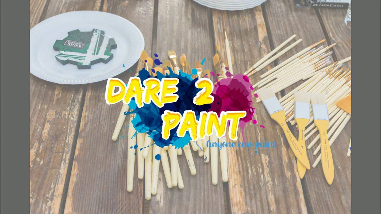 Dare2Paint - Unilever Corporate Paint Party - Unwind and paint your blues away!