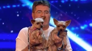 Mahny and Robbie Open a Yoga for Dog Class With The Judges! | Week 1 | Britain's Got Talent 2017