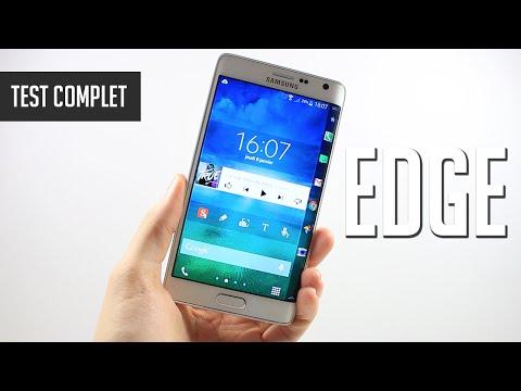 Test du Galaxy Note Edge, un Note 4 avec un écran incurvé