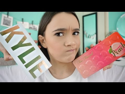 Which PEACH Palette Should You Get? KYLIE vs TOO FACED | Fiona Frills