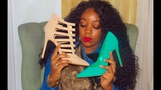 Fashion  Winter Shoe Haul 2015