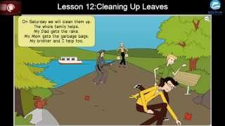 English Via Listening for Beginners: Lesson 12 - Cleaning Up Leaves