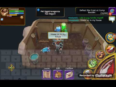 Arcane Legends Game Play - Defeat Boss Inan-hesh