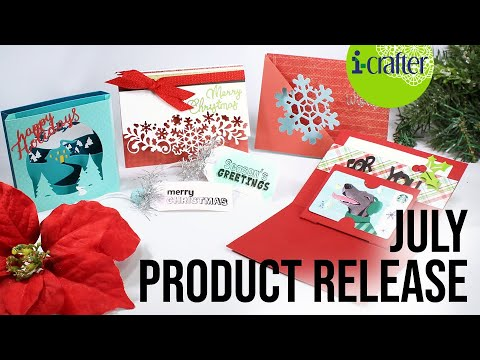 i-crafter July New Product Release