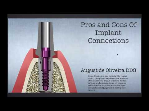 Dental Education: The Evolution of Implant Connections by dentist August de Oliveira