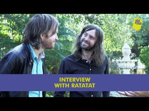 Interview with RATATAT at Magnetic Fields 2015 | Unique Music Stories from India