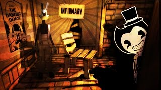 HACKING INTO THE SECRET HIDDEN INFIRMARY - Bendy and The Ink Machine (Game) Chapter 2 - Pt 6