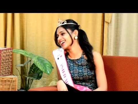 Miss India interview finalist of 2015  Pranati Prakash by Harshit Anurag.
