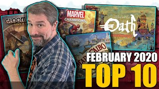 Top 10 Hottest Board Games: February 2020
