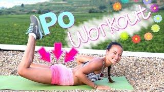 12 Hardcore Po Übungen für Zuhause - Knackpo Workout - HIIT - Straffer Hintern - Bikini Guide