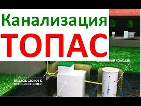 ТОПАС (TOPAS). Очистные сооружения топас - отзывы