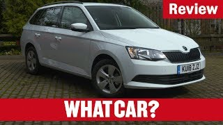2018 Skoda Fabia Estate Review | Is it still the best small estate? | What Car?
