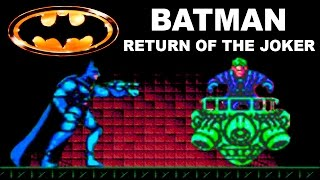 Batman: прохождение Batman Return Of The Joker (NES, Famicom, Dendy)