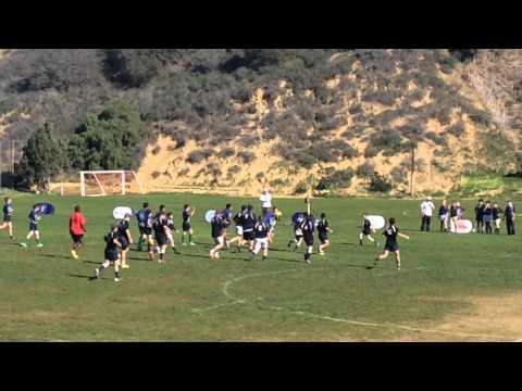 Santa Barbara Stingrays U14 v AG 1st half