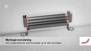 Zehnder Designradiator: Zehnder Stana en Stana Neo; plug-and-play te monteren