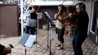 String Cuartet from the Jena Philharmonic Orchestra at Hostal Real