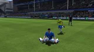 ross barkley amazing touch vs newcastle fifa glitch