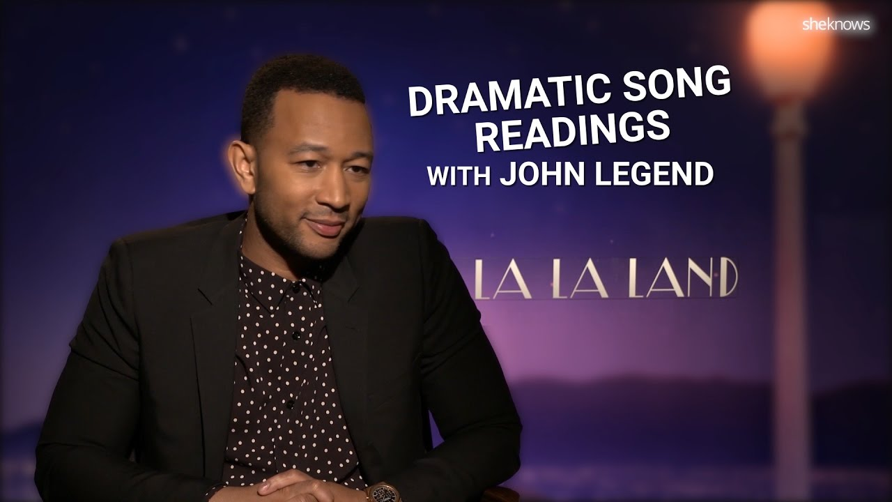 John Legend – Dramatic Song Readings – La La Land - YouTube