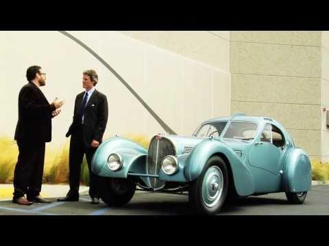 1936 Bugatti Type 57SC Atlantic - The World's Most Expensive Car