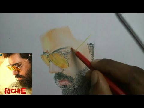 NIVIN PAULY-RICHIE Film color pencil drawing