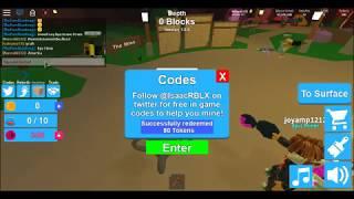 (Code) ROBLOX | New Update 7 Code Vip | Mining Simulator