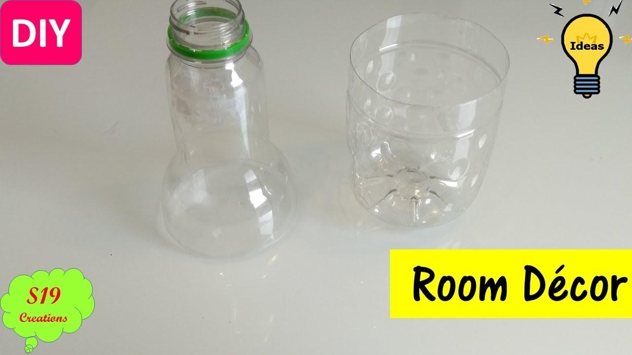 Plastic Bottle Craft Ideas | Paper Crafts | Diy Home Decor | Best Craft Idea  | S19 Creations