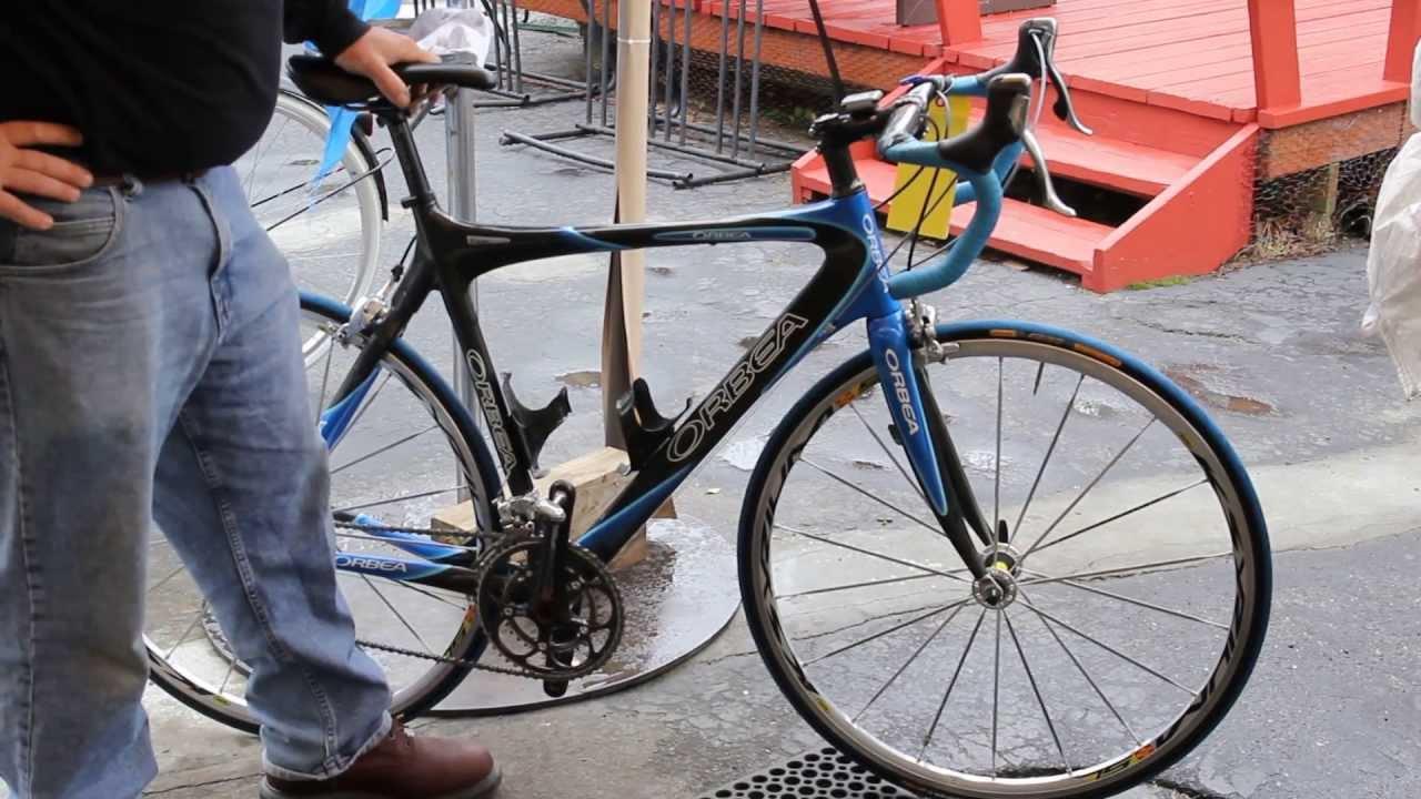 Orbea Orca Carbon Beauty Road Bike Check Bikemanforu Youtube