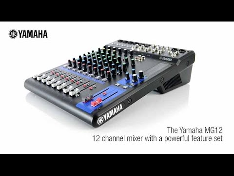 Yamaha Mixing Console Mg Fx Tutorial