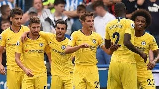 Chelsea vs Huddersfield players ratings and man of the match