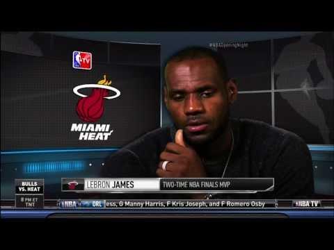 October 30, 2013 - David Aldridge Interviews Miami Heat