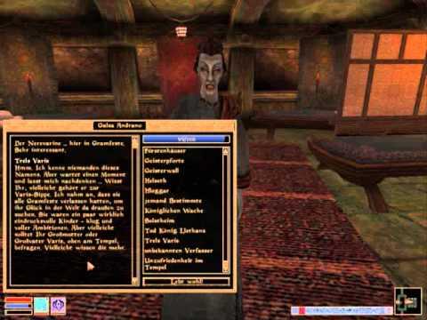 Let's play TES III Tribunal - 3 (deutsch) Seitenwechsel