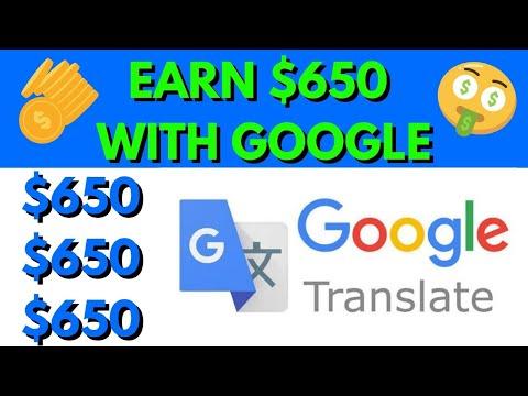 Earn $650 Per Day Using Google Translate! | Make Money Online 2021 FREE